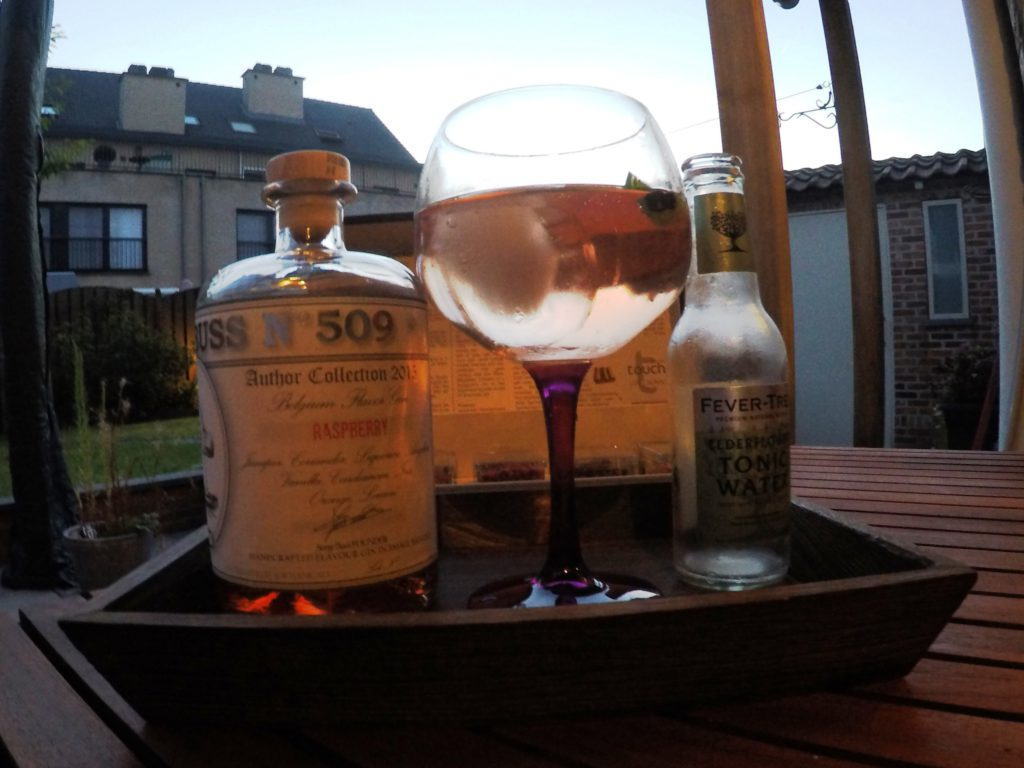 Buss 509 Raspberry met Fever-Tree Elderflower tonic water