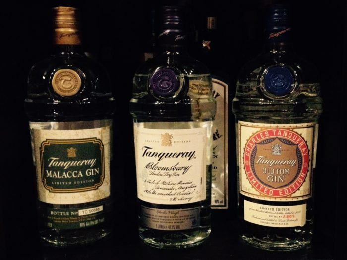 Tanqueray Bloomsburg - Tanquaray Malacca - Tanqueray Old Tom's