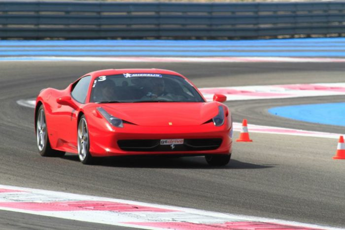 Ferrari 458 in Paul Ricard