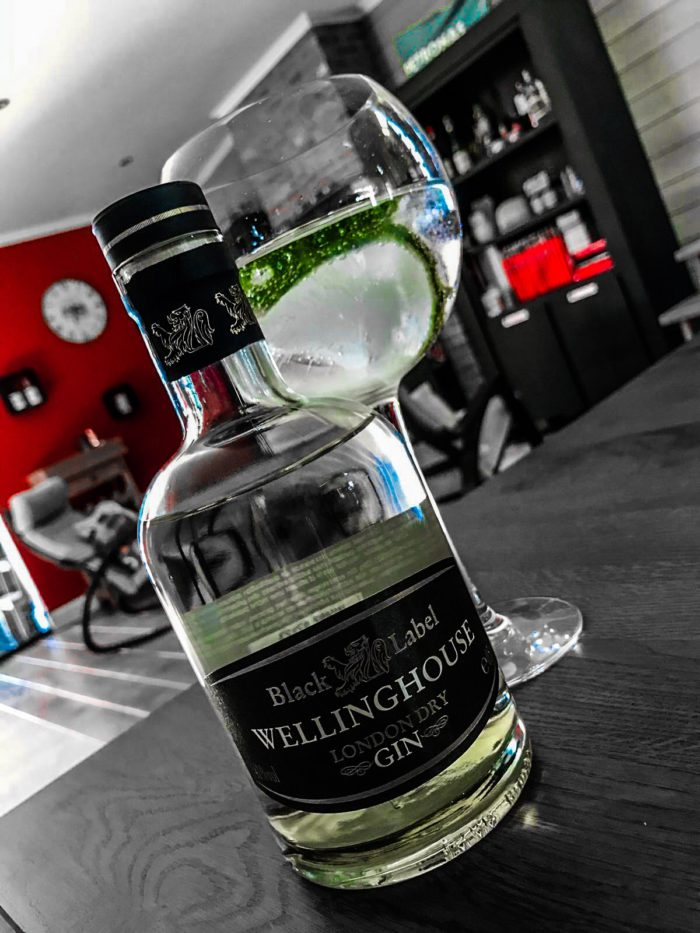Wellinghouse Gin - Aldi Gin