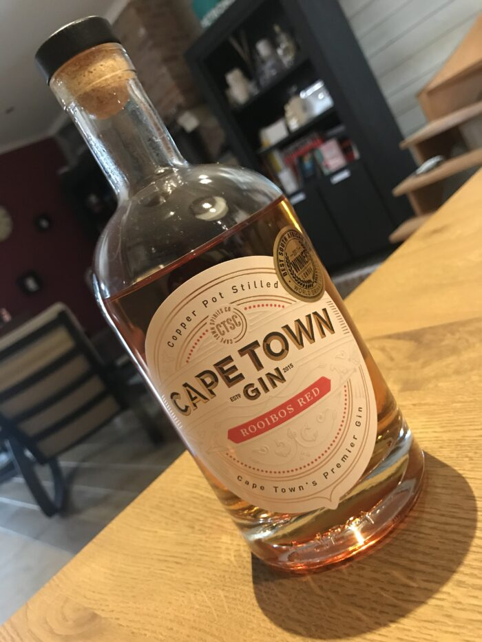 Cape Town Gin – Rooibos Red